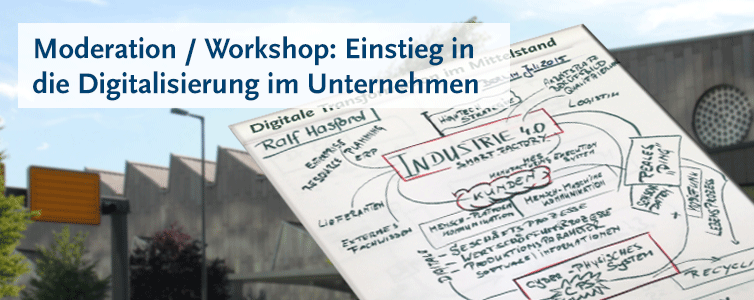 Moderation Workshop Digitalisierung