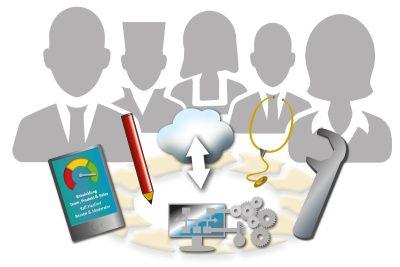 hasford Moderation von Workshop für digitale workflows und digitale prozesse