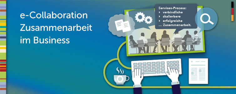 Kollaboratives Arbeiten bietet Unternehmen die Chance der Effizienzsteigerung bei Arbeitsplanung, Durchführung, Abrechnung und im Management.