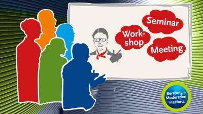 Hasford Moderation von Workshop und Seminar für Industrie und Mittelstand sowie Verband