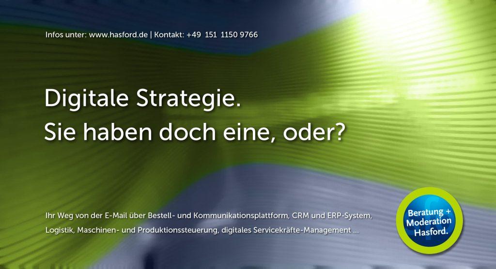 Digitale Strategie. Sie haben doch eine oder