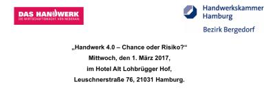 """""""Handwerk 4.0 – Chance oder Risiko?"""