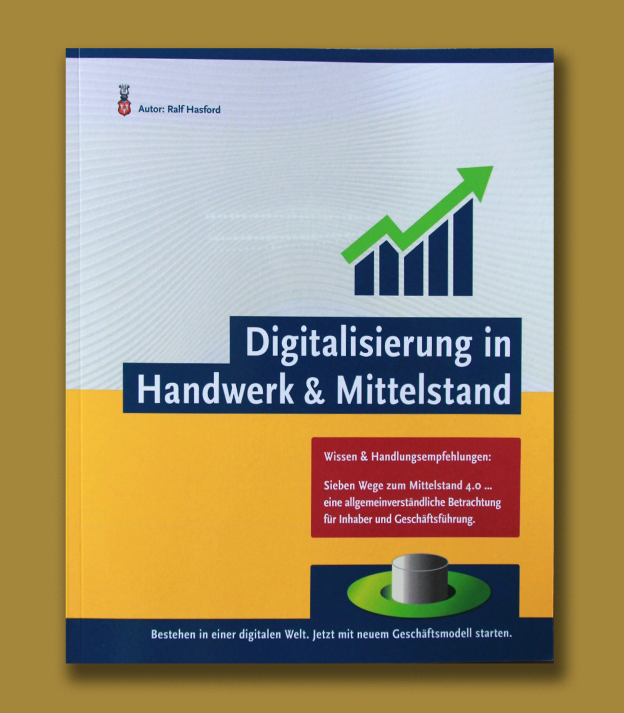 Digitale Transformation: Ralf Hasford schrieb und veröffentlichte Buch Digitalisierung KMU