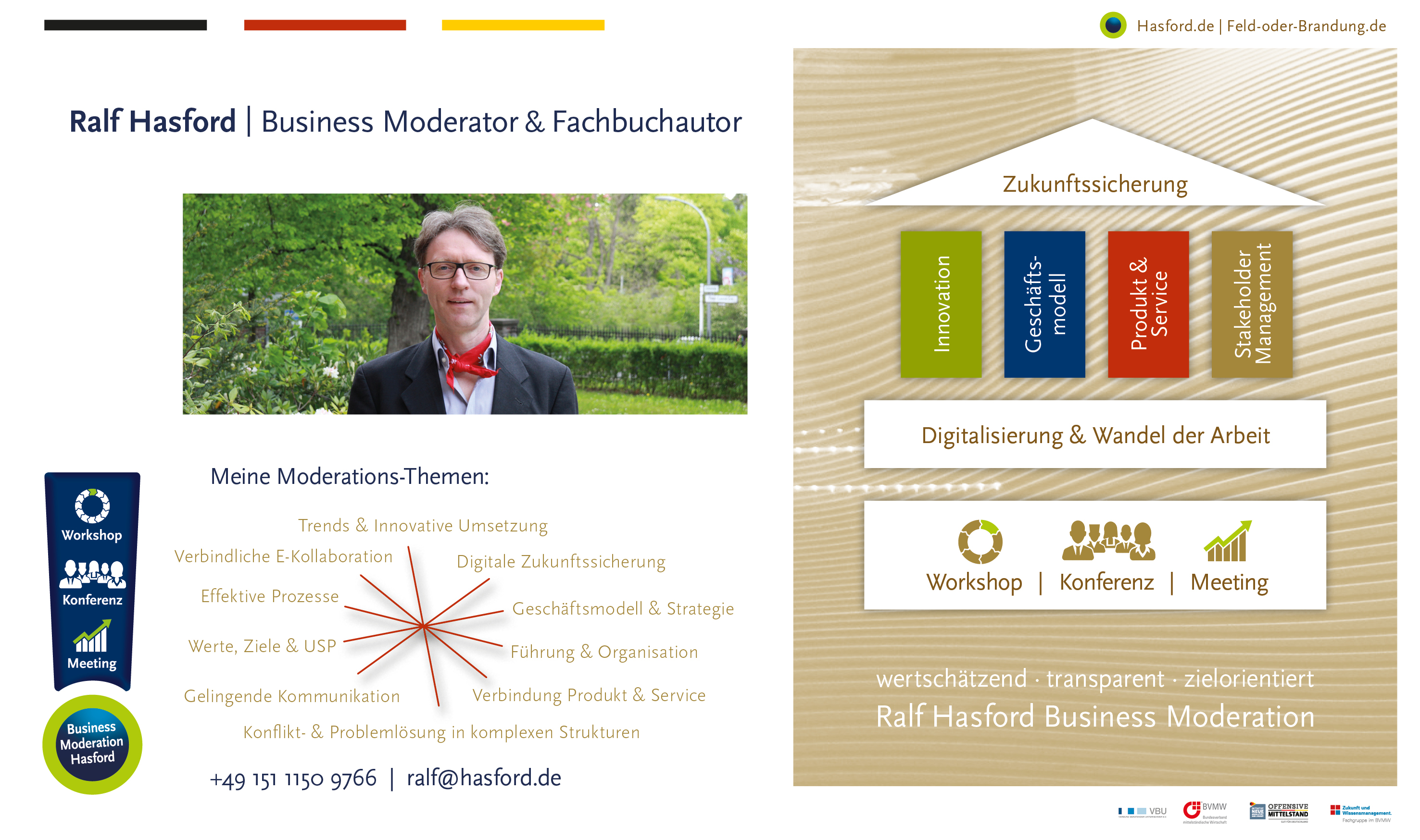 Ralf Hasford   Business Moderator & Fachbuchautor