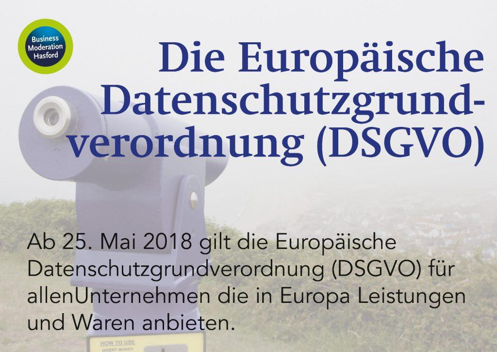 Europäische Datenschutzgrundverordnung