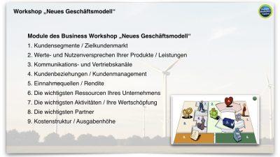 """Workshop """"Neues Geschäftsmodell"""""""