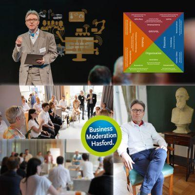 Arbeit 4.0: Moderator | Sprecher Ralf Hasford … unverwechselbar, eigenständig, überzeugend.