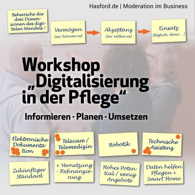 Mein Anliegen im Workshop: Mit Weitblick planen und detailgenau Aufgaben und Ablauf definieren