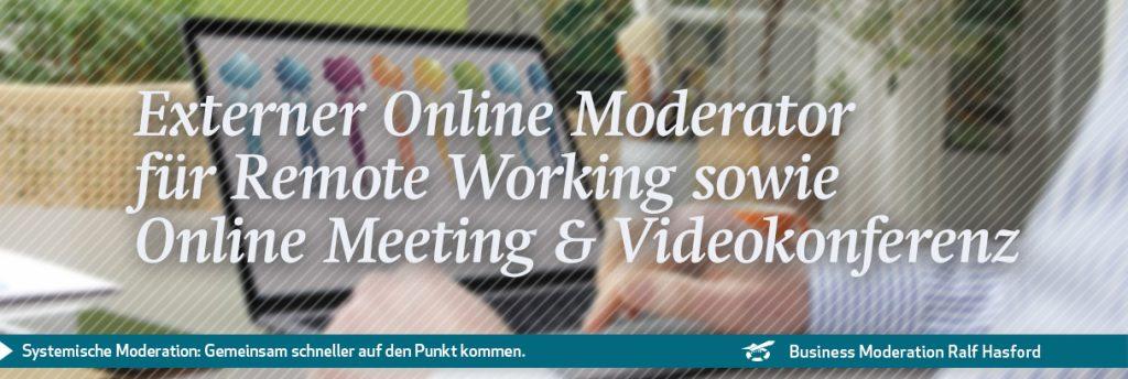 Externer Online Moderator