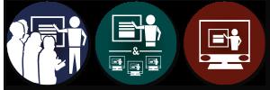 Moderation von Meetings in der Form Präsenz oder Hybrid oder auch nur Online